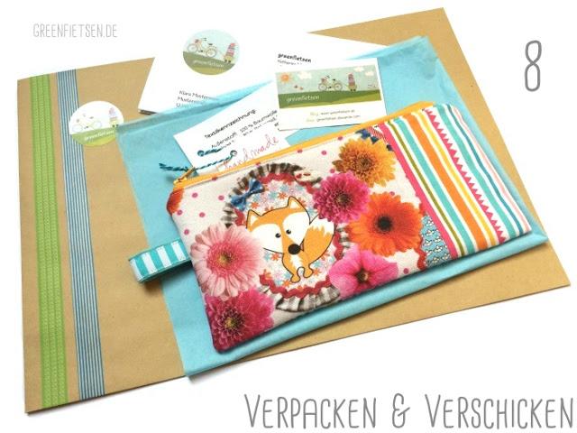 Der Weg des Handmade-Produkts - Verpacken & Verschicken