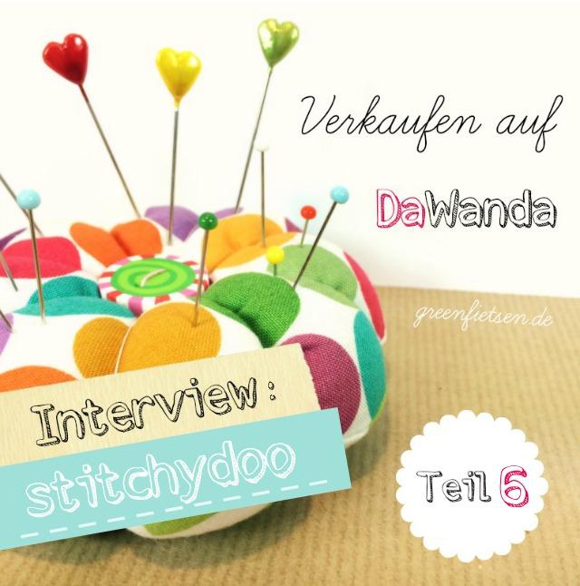 """Interview - Katherina von """"stitchydoo"""" über das Verkaufen auf DaWanda #6"""