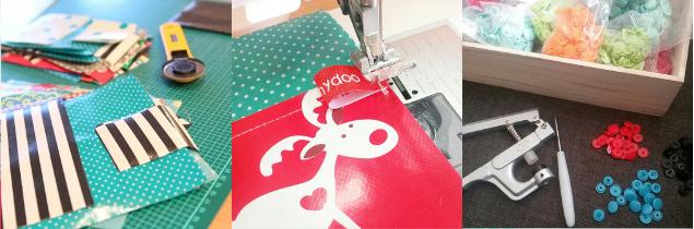 Arbeitsschritte im Herstellungsprozess