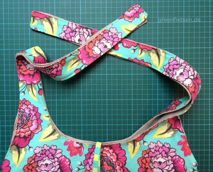 Free Tutorial | Mozzie Bag - Henkel knoten