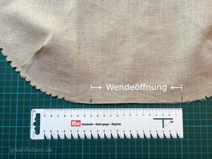 Free Tutorial | Mozzie Bag - Seiten und Boden der Innentasche schließen