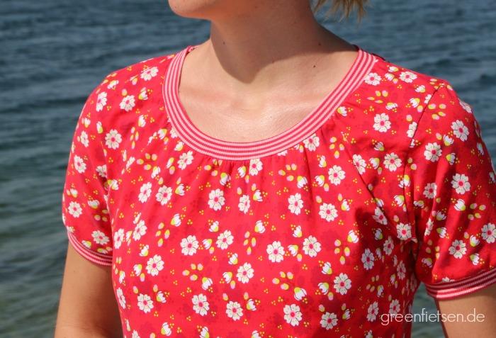 Shirt Joana von Jolijou mit angesetzten Ärmeln