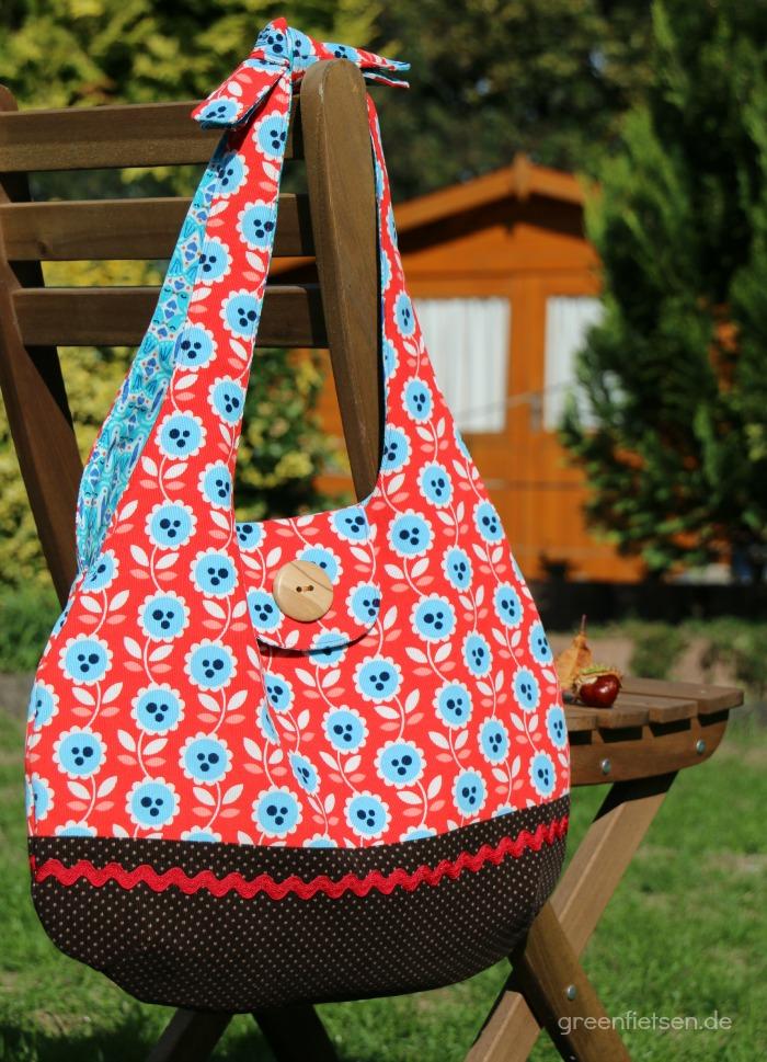 Mozzie Bag - eine hübsche Umhängetasche für den Herbst