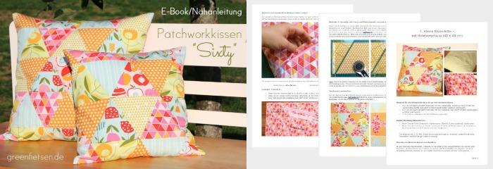 E-Book Patchworkkissen Sixty