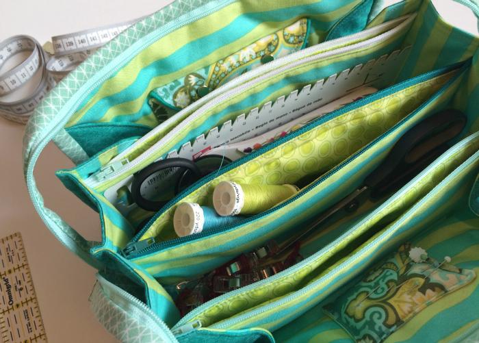 Sew Together Bag - Die perfekte Tasche für deine Nähutensilien