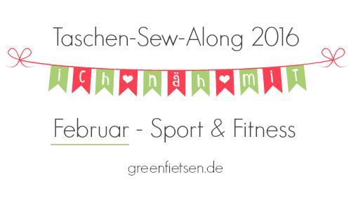 Taschen-Sew-Along 2016 | Februar - Sport & Fitness
