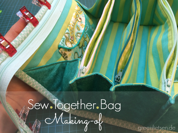 Making-of & Tipps | Meine frühlingsgrüne Sew Together Bag
