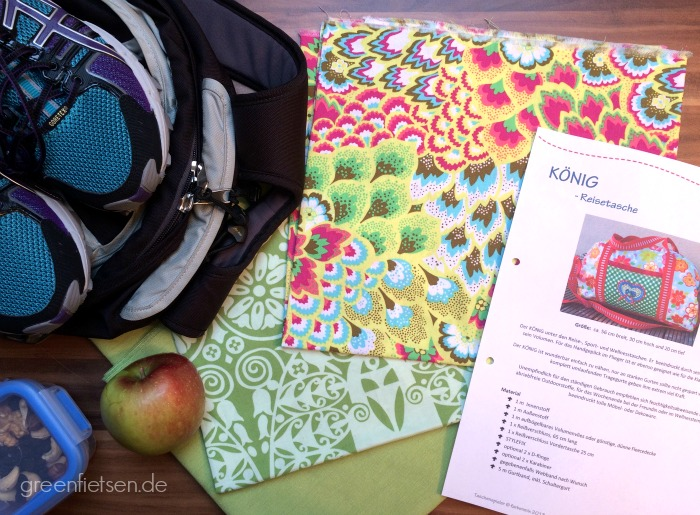"""Sporttasche """"König"""" to be! [Farbenmix: Taschenspieler 1]"""