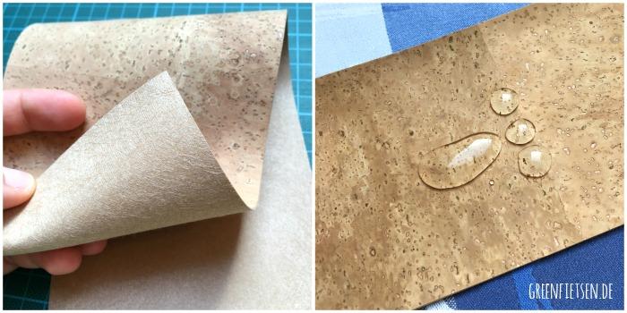 Korkstoff - Was ist das für ein Material und wie näht es sich?