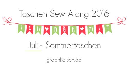 Taschen-Sew-Along 2016 | Juli - Sommertaschen [Linksammlung]
