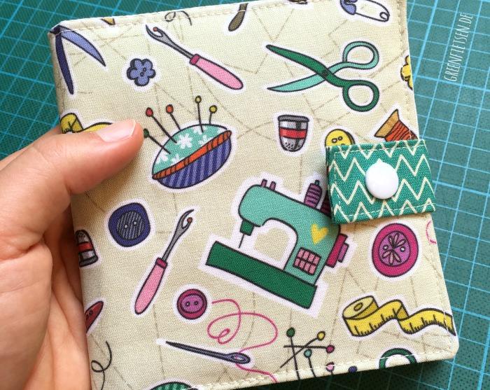 Nadelbuch für Nähnadeln und Stickschere [E-Book: greenfietsen]