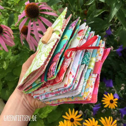 7 auf einen Streich - Nadelbücher {E-Book von greenfietsen}