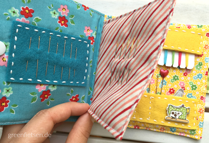 Nadelbuch mit süßen Stickereien {E-Book: greenfietsen}