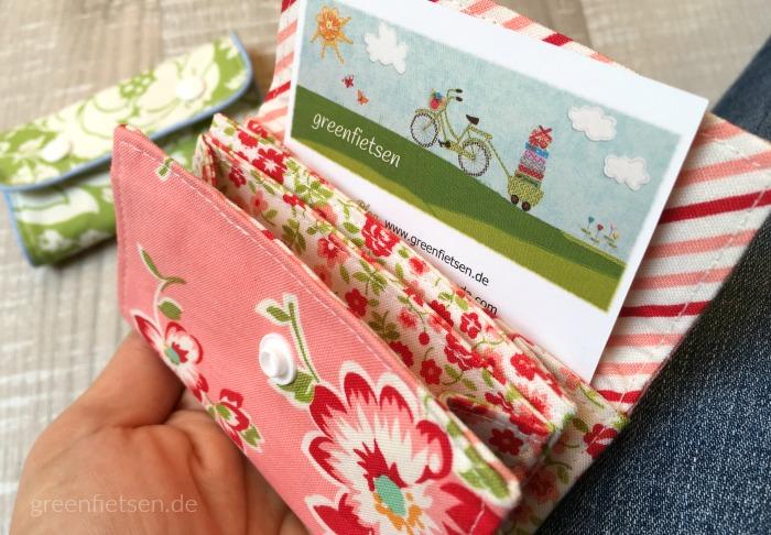 MiniMoneyBag als Visitenkarten-Täschchen