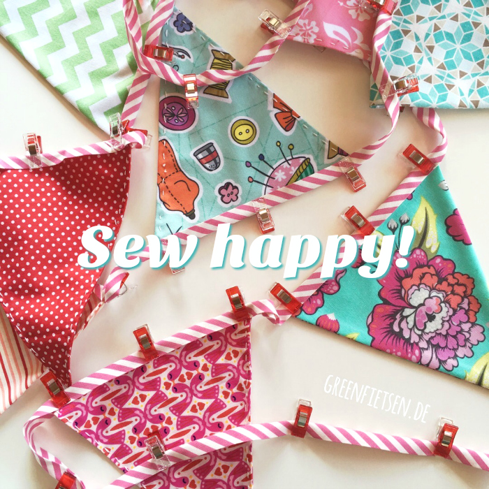 Sew happy! | Wortspiele