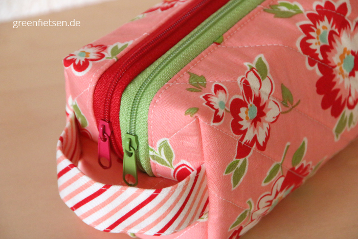 Annex Double-Zip Box Pouch von Sew Sweetness