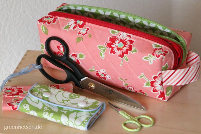Annex Double-Zip Box Pouch von Sew Sweetness