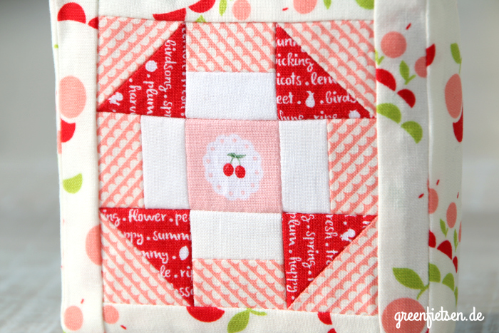 Patchwork | Churn Dash Nadelkissen (Mini-Tutorial)