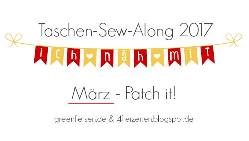 Taschen-Sew-Along 2017 | März - Patch it! Tasche trifft Patchwork