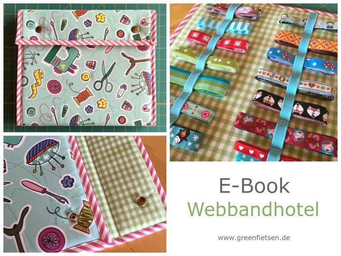 """Jetzt erhältlich - E-Book """"Webbandhotel"""" von greenfietsen"""