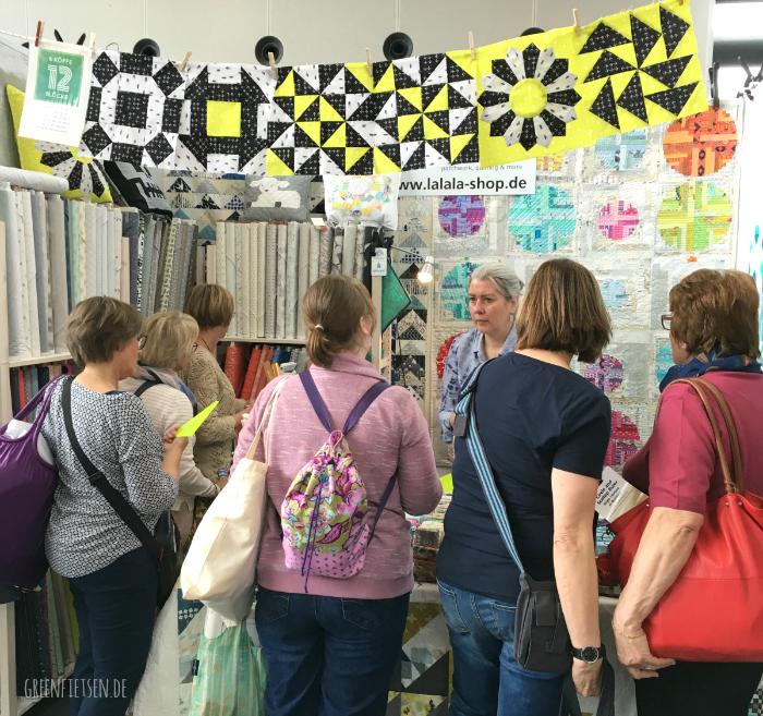 Nadelwelt Karlsruhe 2017 - Der Stand von Lalala Patchwork