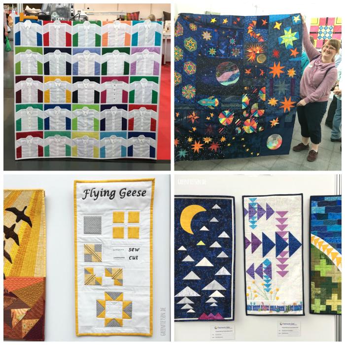 Quilts und Textilkunst auf der Nadelwelt 2017