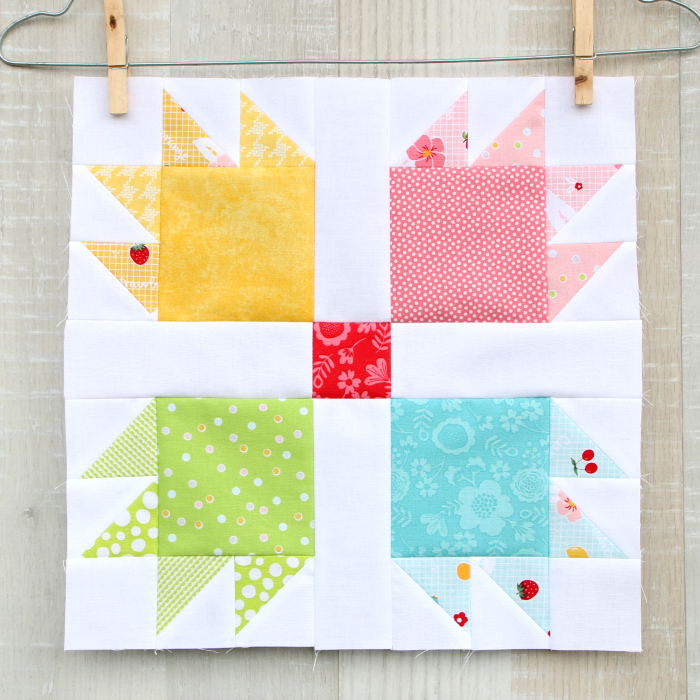 Quiltblock Bear's Paw