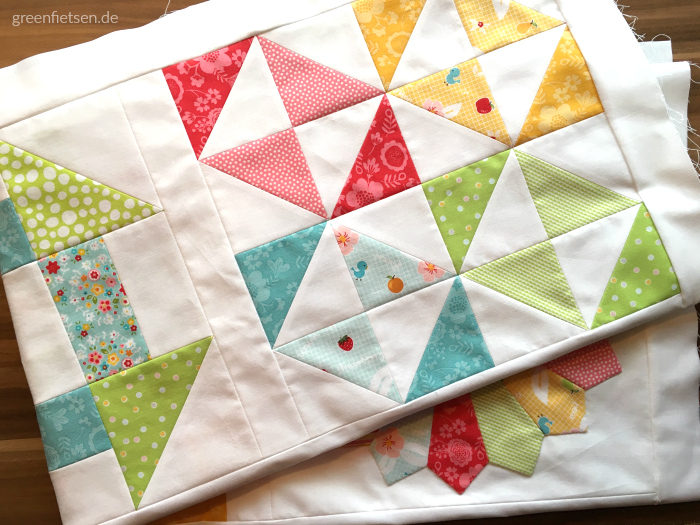 6 Köpfe - 12 Blöcke | Mein Quilt-Layout - Tipps & Größentabelle
