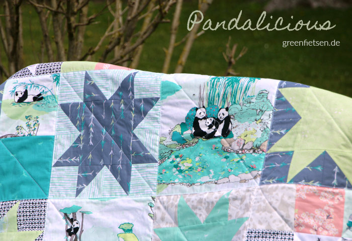 "Starquilt ""Pandalicious"""