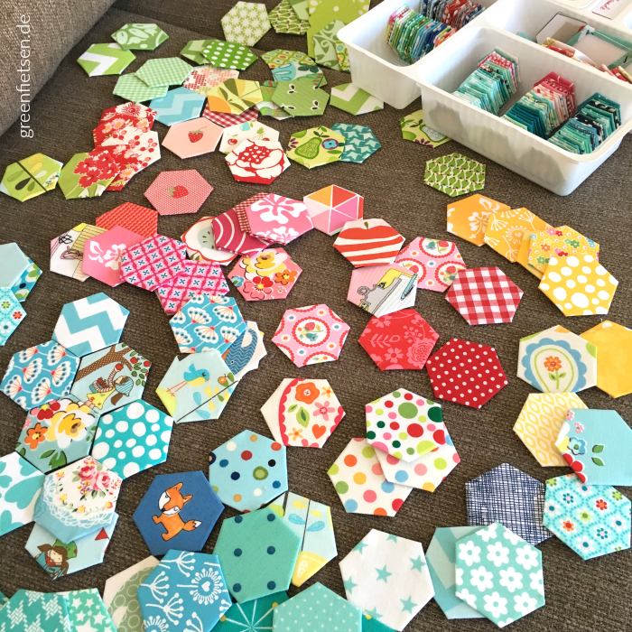 Hexies English Paper Piecing