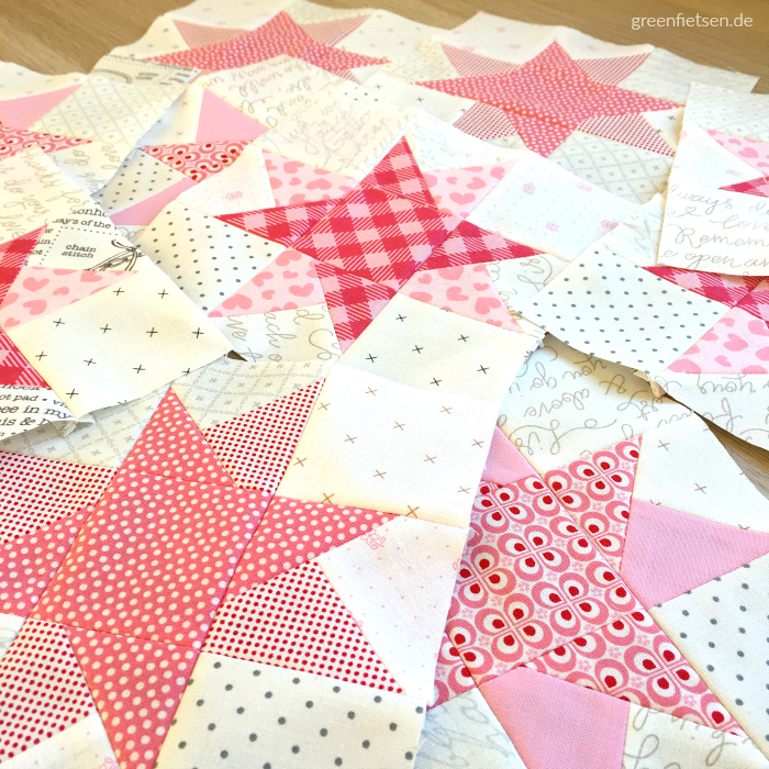 Quiltblock Wonky Star