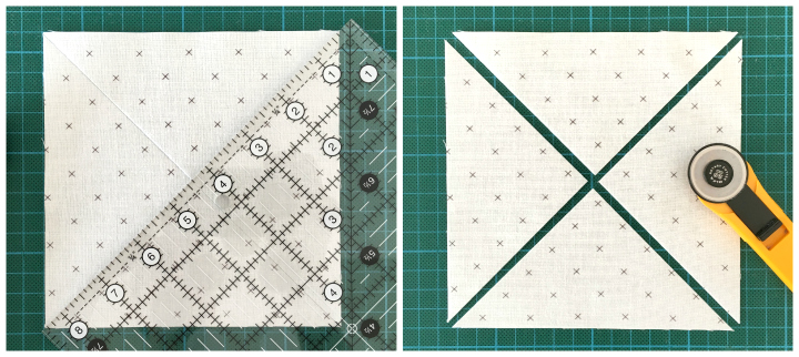 Criss Cross Quiltblock