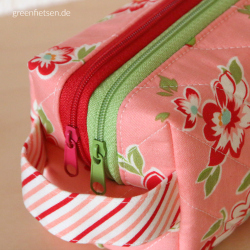 Annex Double-Zip Box Pouch