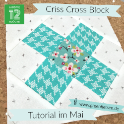 Tutorial Criss Cross Quiltblock