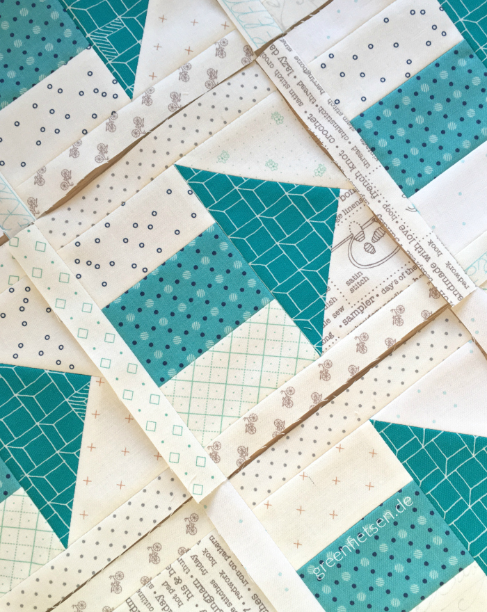 One Way Quiltblock