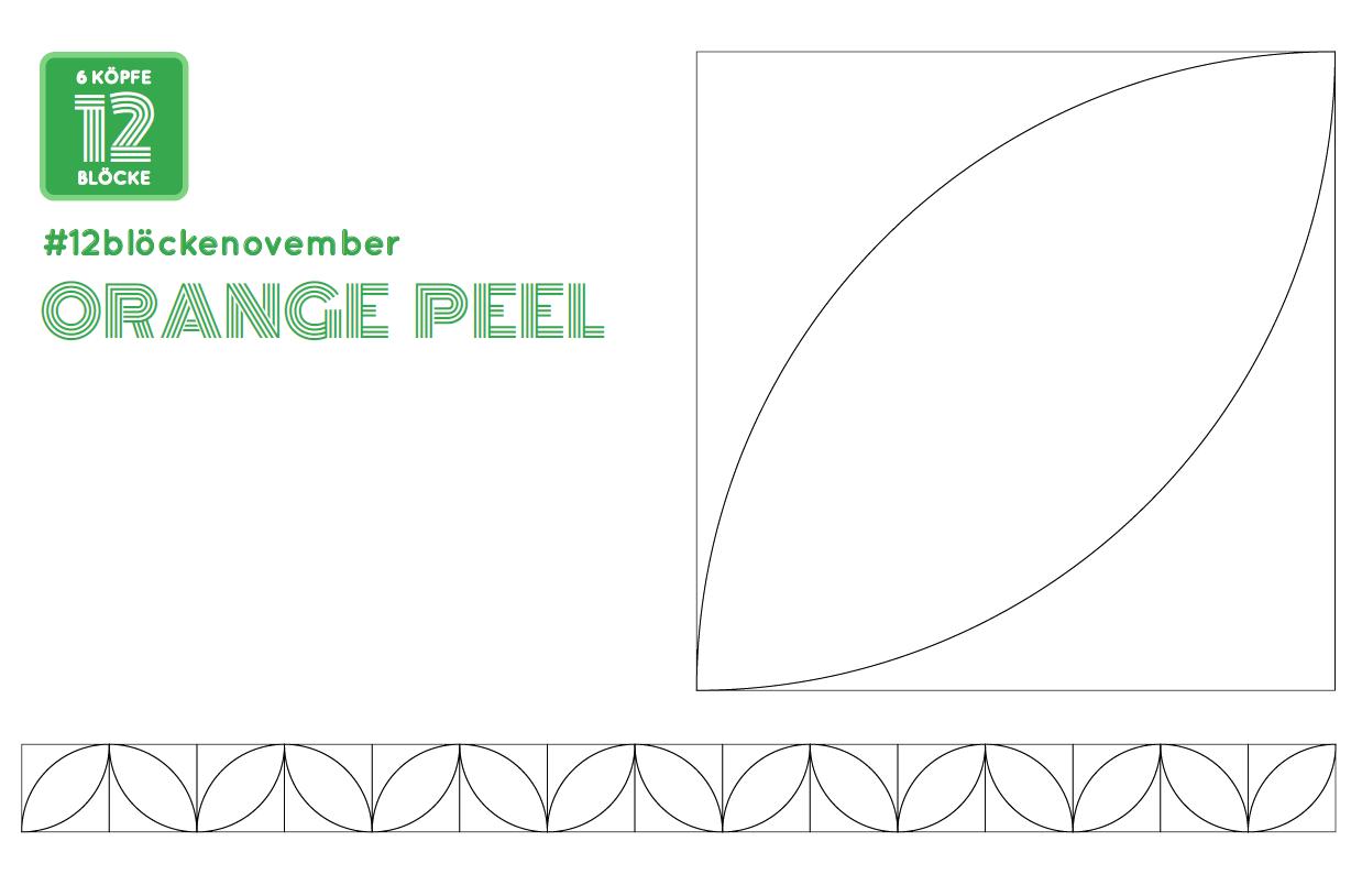 Orange Peel Ausmalbild