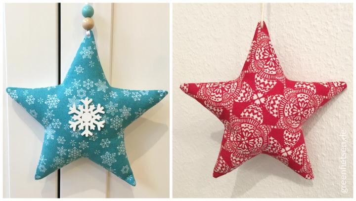 Weihnachtssterne nähen - So gelingen sie perfekt!
