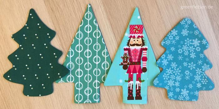 Oh Tannenbaum! - Weihnachtsbäume aus Stoff