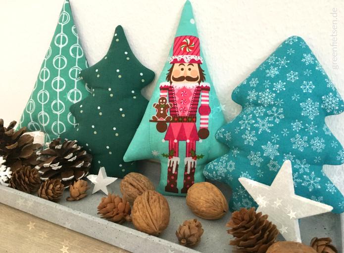 Oh Tannenbaum! - Weihnachtsdeko aus Stoff nähen