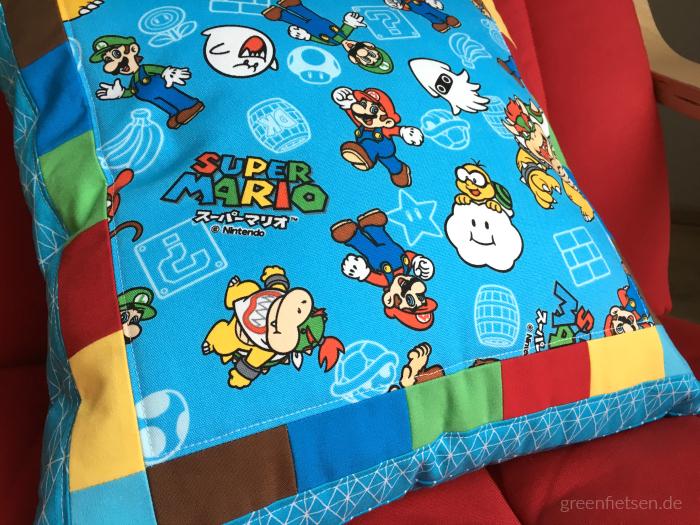Super Mario Kissen