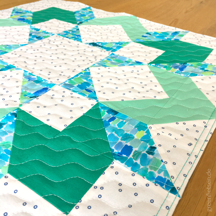 Carpenter's Wheel Quiltblock