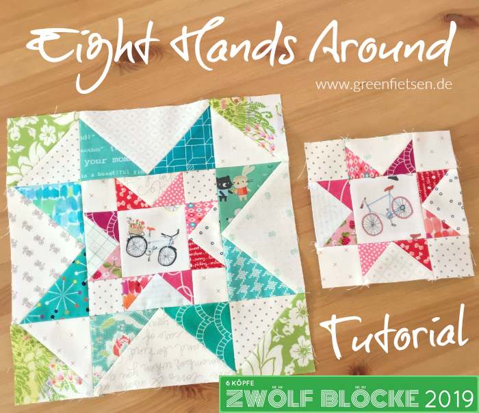 Eight Hands Around Quiltblock