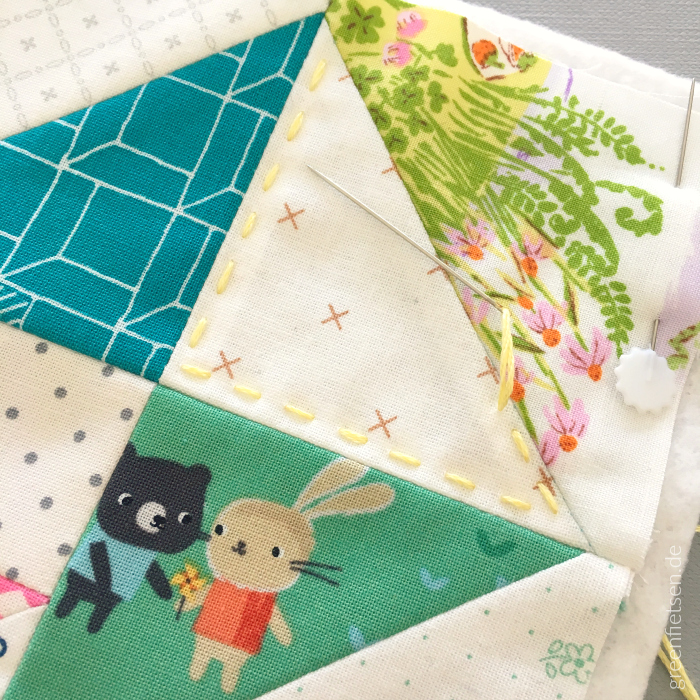 Eight Hands Around Mini Quilt