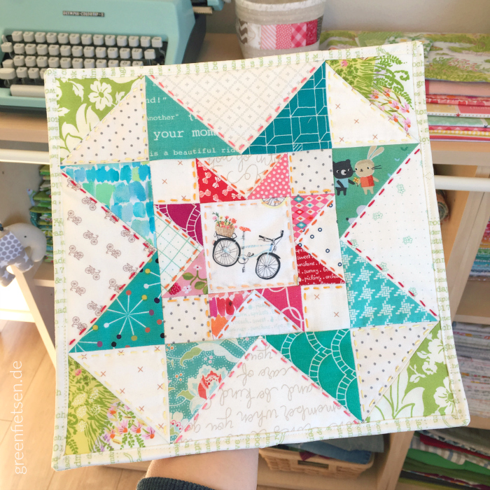 Eight Hands Around Mini Quilt