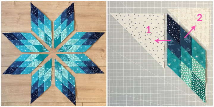 Lone Star Quiltblock Tutorial