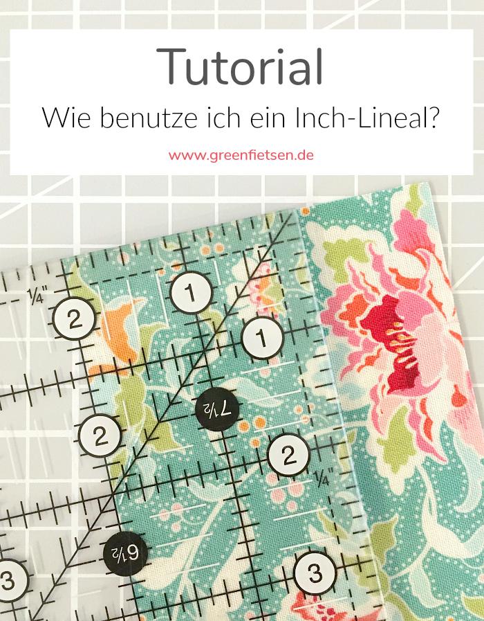 Tutorial | Wie benutze ich ein Inch-Lineal?