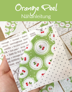 Nähanleitung - Orange Peel Quiltblock