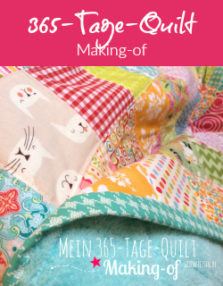 Making-of | 365-Tage-Quilt