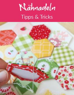 Tipps| Die besten Nähnadeln für English Paper Piecing