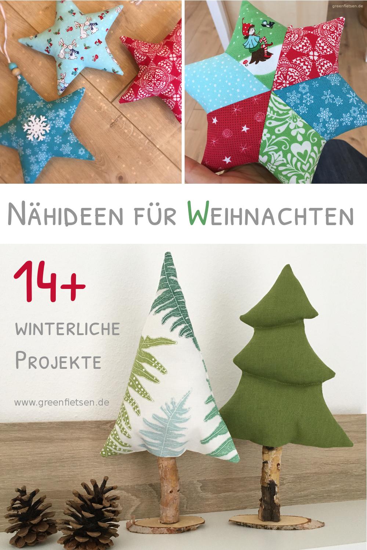 14+ Nähideen für Weihnachten